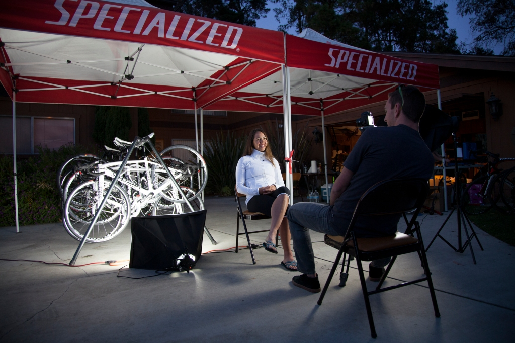 Sitting down with the Specialized-Lululemon Cycling Team